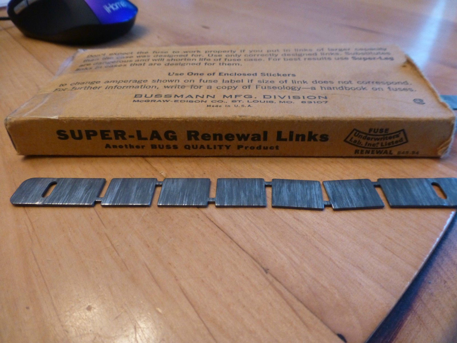 BUSSMAN SUPER-LAG RENEWAL LINKS 600V LOT OF 19