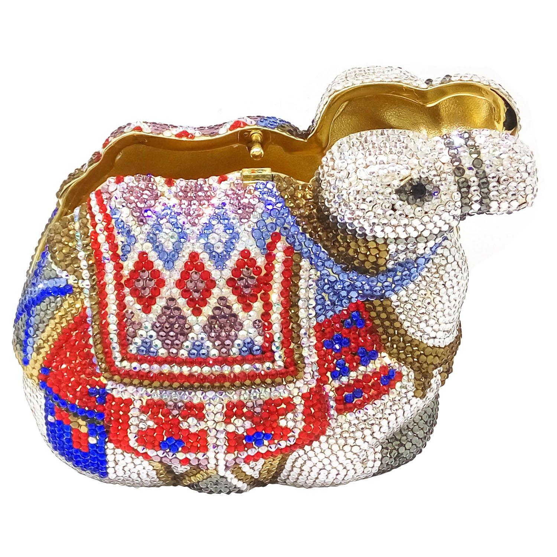 Amazon.com: Dazzling - Bolso de mano con forma de camello 3D ...