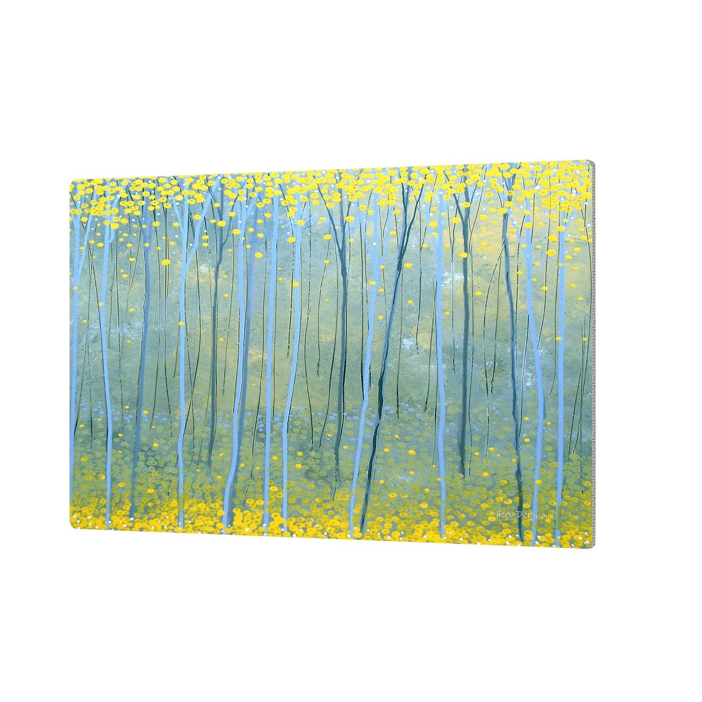 ArtWall Herb Dickinsons Ginko Forest Artmetalz Aluminum Print 24 x 36