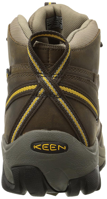 2cb31535230 KEEN Men's Targhee II Mid Waterproof Hiking Boot