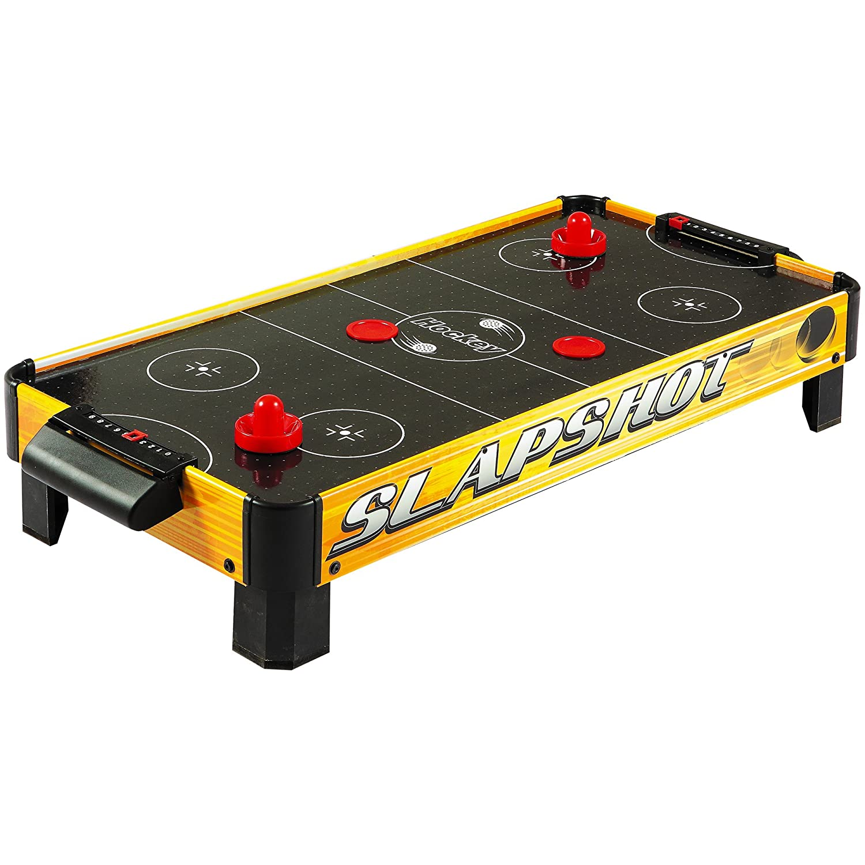 Hathaway Slapshot Table Top Air Hockey (Gold/Black, 40 X 20 X 8 Inch):  Amazon.ca: Patio, Lawn U0026 Garden