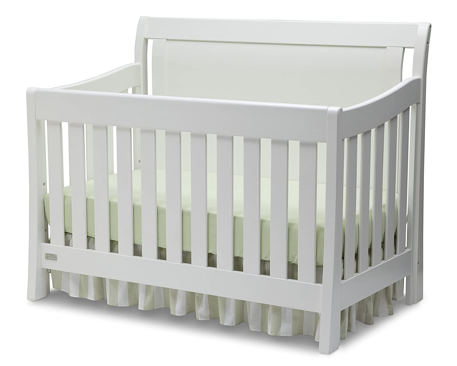 amazon com simmons kids slumbertime madisson crib n more white