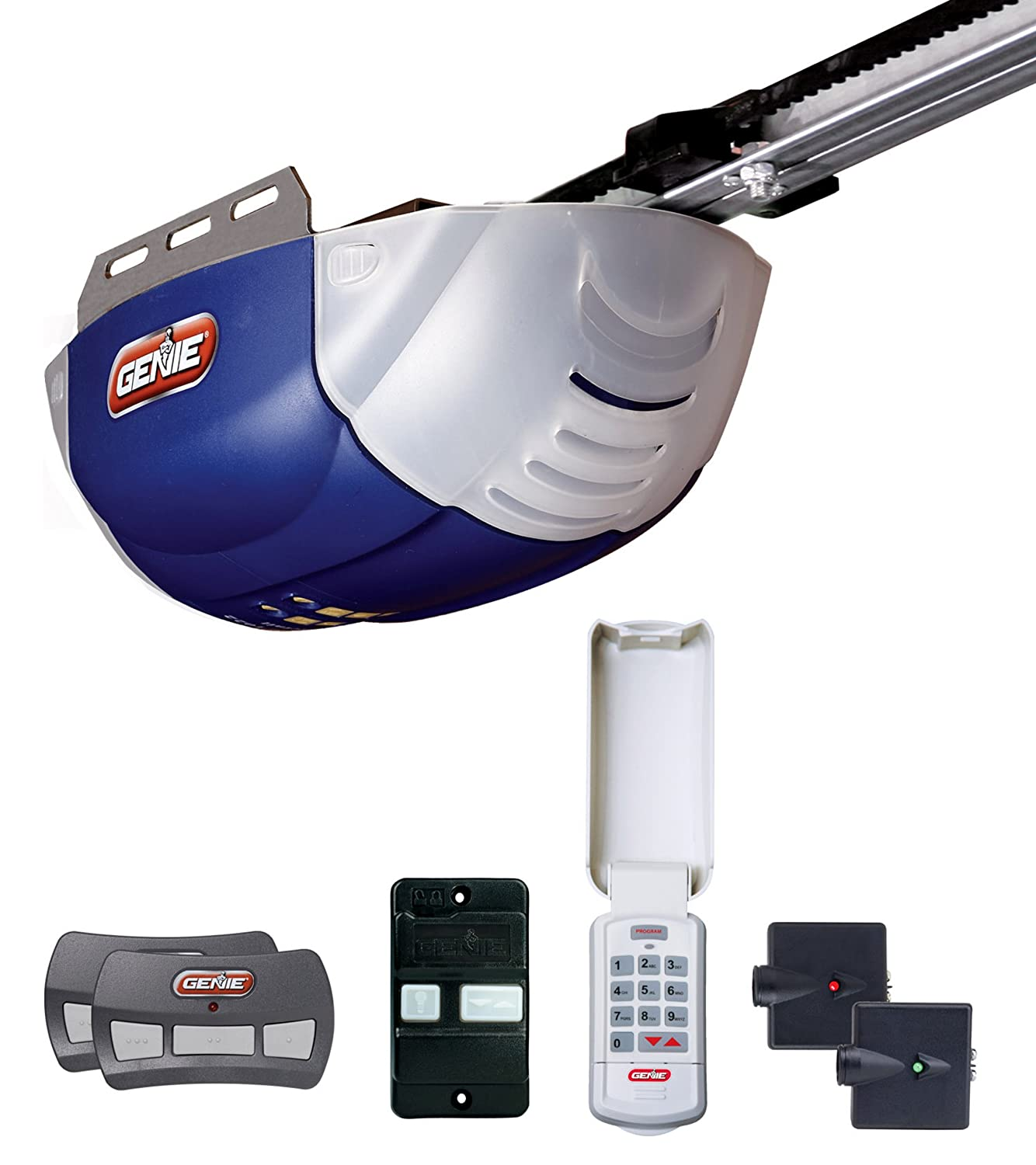 Quietest garage door opener