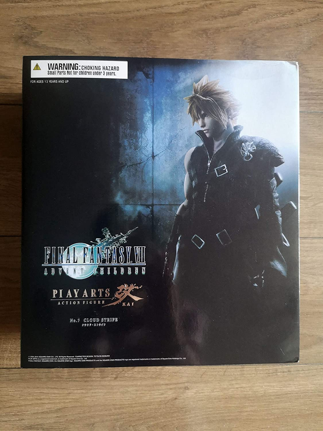 10in Play Arts Final Fantasy VII Remake Cloud Strife Action Figure Ver.
