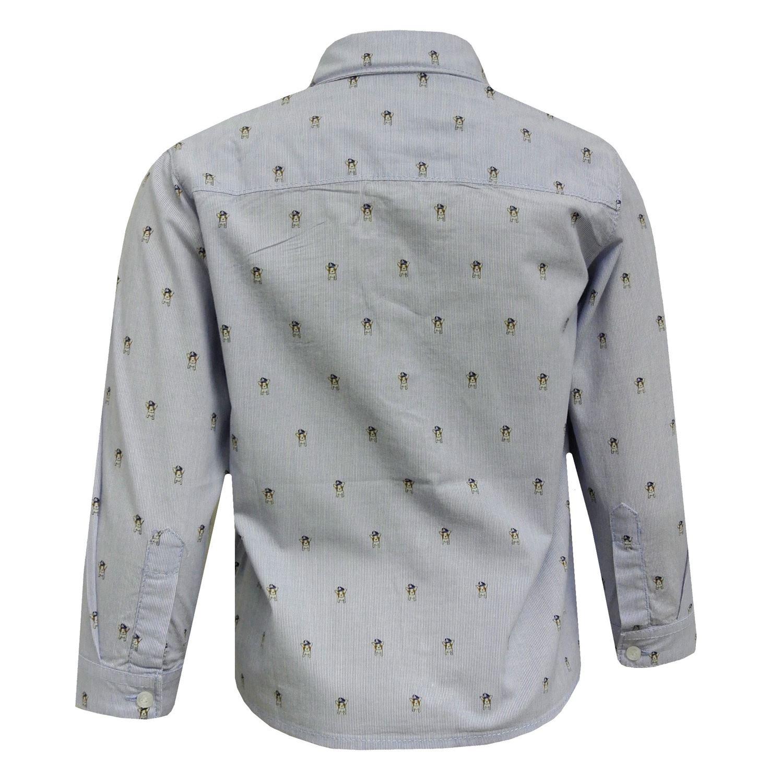 1161b hellblau Baby Jungen festliches Langarm Hemd Hund Mayoral