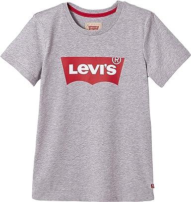 Levis kids Nn10117 Short Sleeve tee-Shirt Camiseta, Gris (China Grey 20), 16 años (Talla del Fabricante: 16Y) para Niños: Amazon.es: Ropa y accesorios