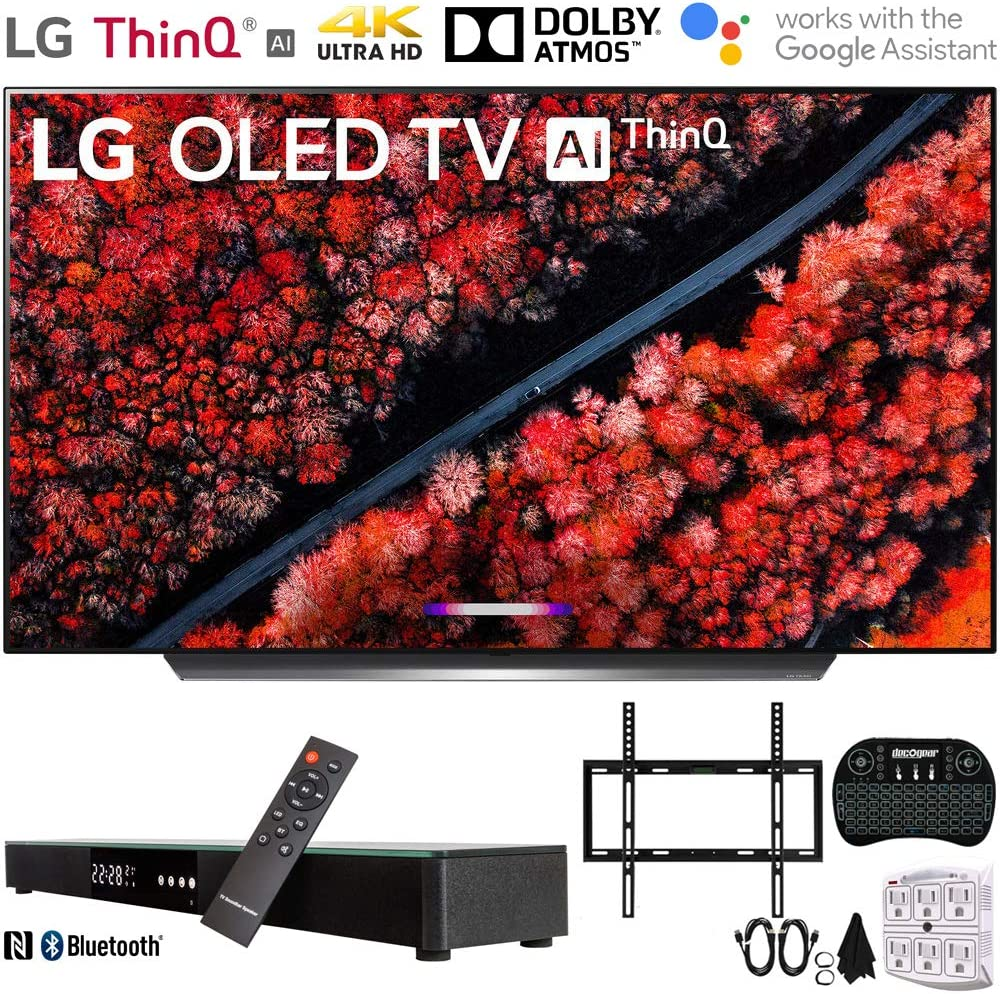 LG C9 4K HDR Smart OLED TV w/AI ThinQ (2019) w/Soundbar Bundle incluidos, Deco Gear Home Theater Surround Sound 31