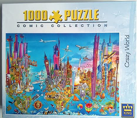 King Jigsaw Puzzle Comic Collection