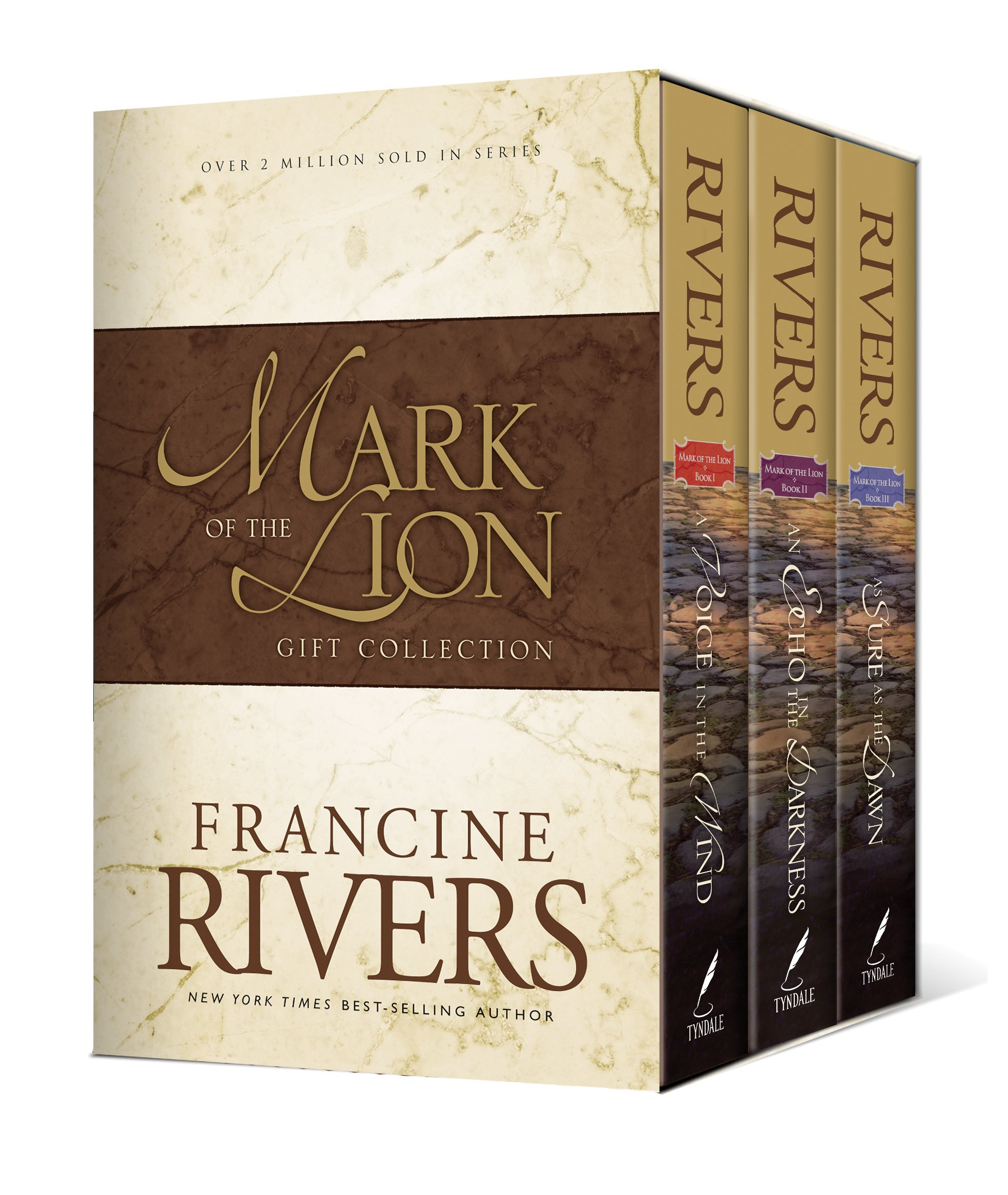 Mark Of The Lion : A Voice In The Wind, An Echo In The Darkness, As Sure As  The Dawn (vol 13): Francine Rivers: 9780842339520: Amazon: Books
