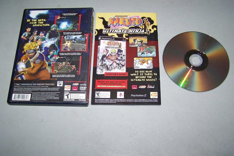 Playstation 2 PS2 - Naruto Uzumaki Chronicles [VERSION ...
