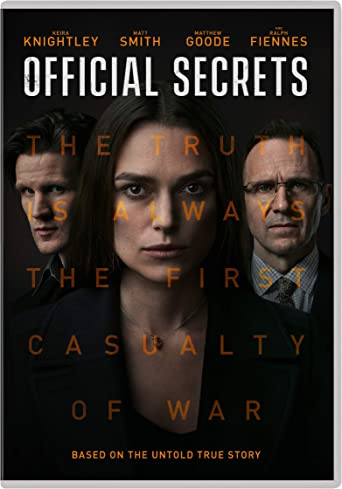 Official Secrets (DVD) [2019]