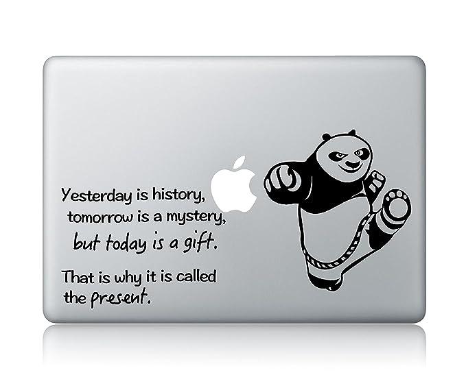 Amazoncom Kung Fu Panda Quote Apple Macbook Laptop Vinyl Sticker