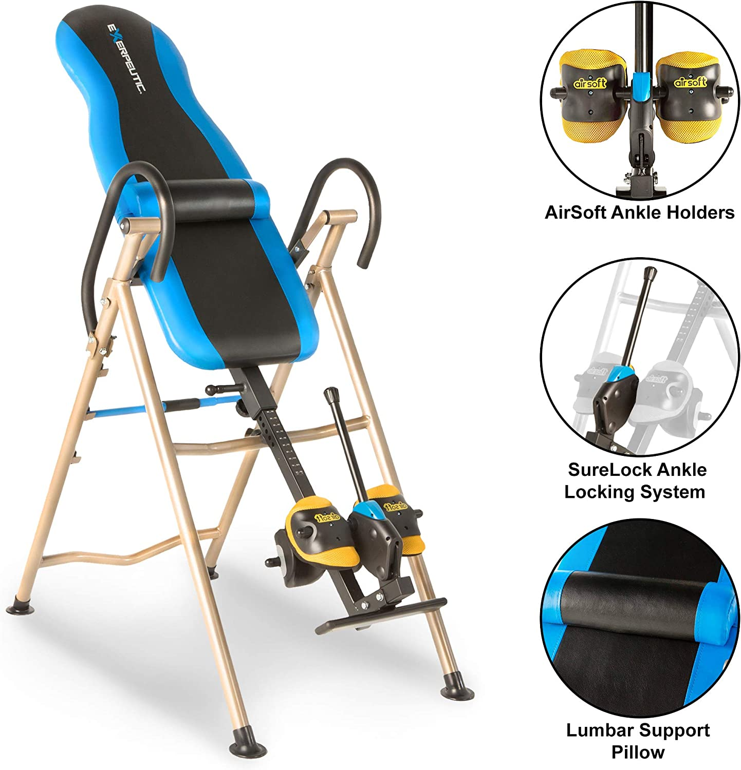 Exerpeutic Inversion Table 225SL Model