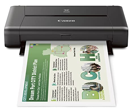 Tidsmæssigt Amazon.com: CANON PIXMA iP110 Wireless Mobile Printer With FH-43