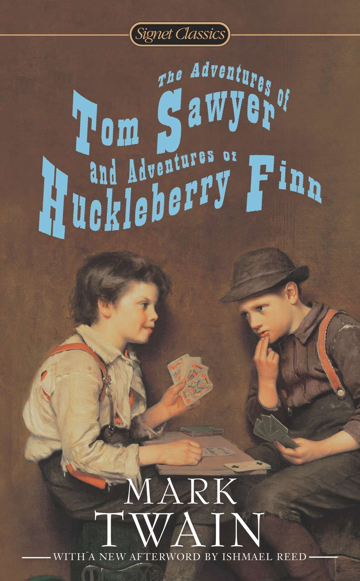 Read Online The Adventures of Tom Sawyer and Adventures of Huckleberry Finn (Signet Classics) pdf