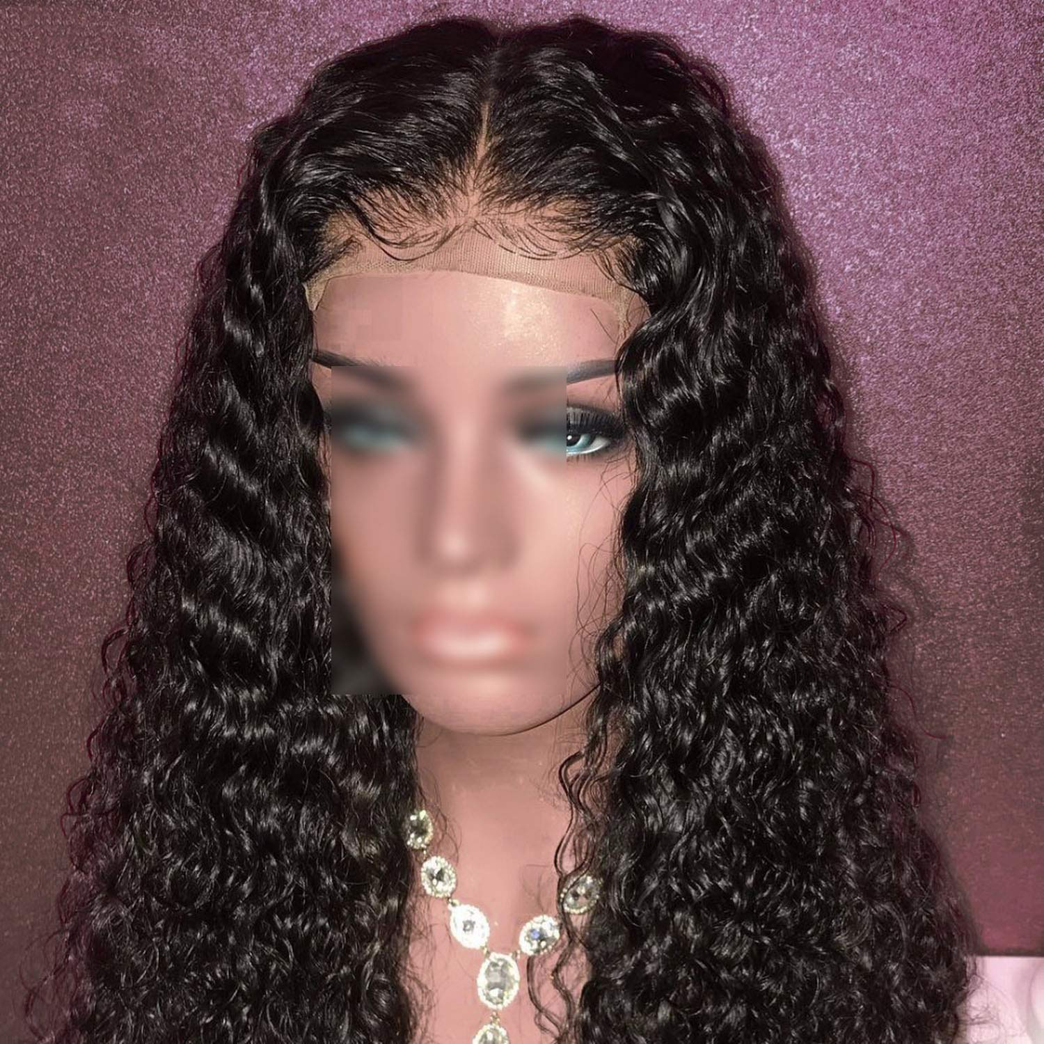 Human Hair WigsBrazilian Remy Hair Glueless Lace Wig Pre-Plucked With Baby Hair,Natural Color,10inches by Little Sophie (Image #3)