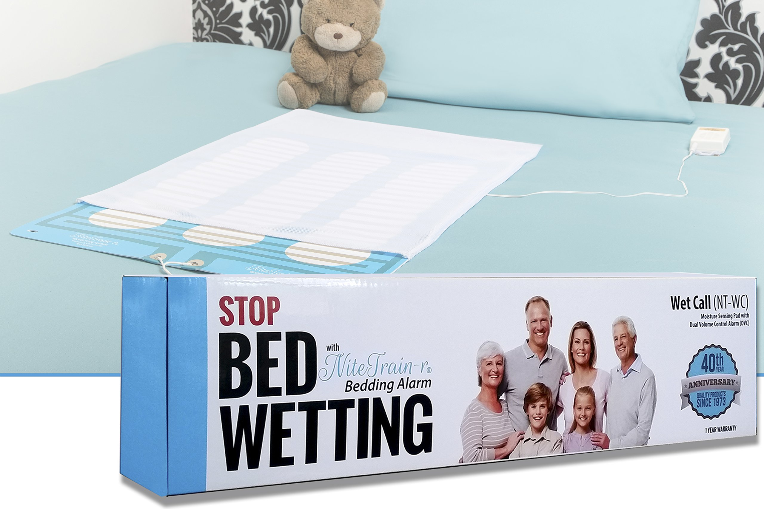 Wet Call Bed Pad Bedwetting Alarm by Nite Train-r