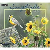 "LANG - 2018 Wall Calendar - ""Songbirds"" - Artwork By Susan Bourdet ´ - 12 Month - Open, 13 3/8"" X 24"""