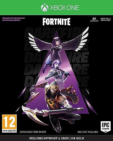 Fortnite Darkfire Bundle - Xbox One [Importación inglesa]: Amazon.es: Videojuegos