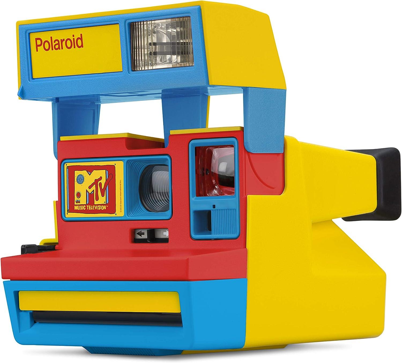 Polaroid Originals 4982 600 - Cámara MTV Stereo Edition