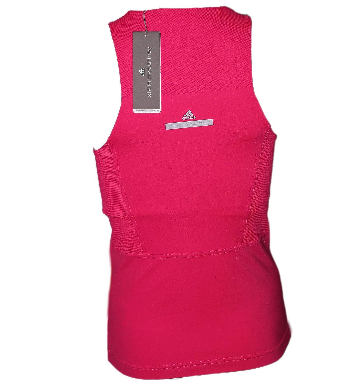 adidas Stella McCartney Barricade Tank Top Damen Grau, Pink