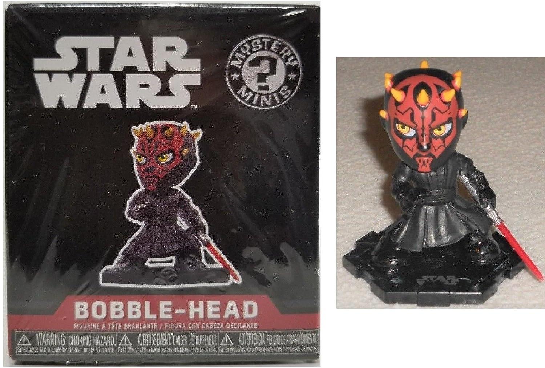 0b5f774b6f6 Amazon.com  Funko Star Wars Mystery Mini  Darth Maul Smuggler s Bounty  Exclusive Bobblehead Figure  Toys   Games