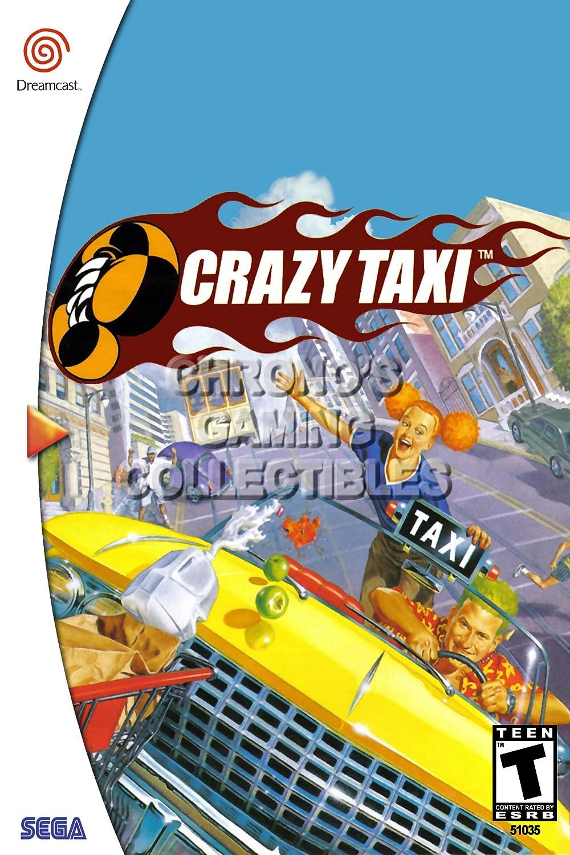 CGC - Crazy Taxi enorme cartel - Sega Dreamcast DC - SDC023 ...