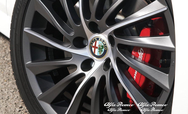 Alfa Romeo HI-TEMP Premium brake caliper decals stickers cast vinyl