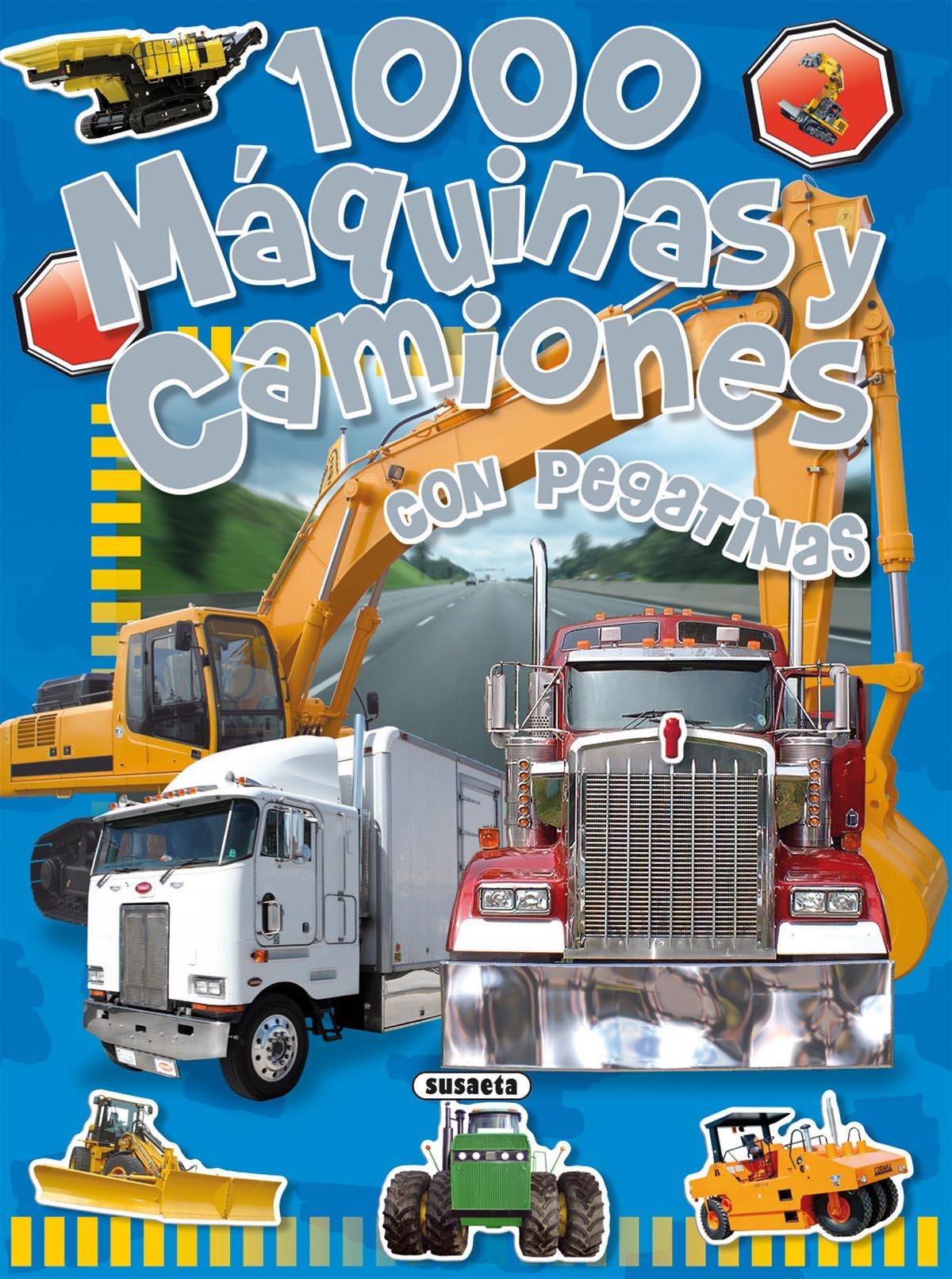 1000 máquinas y camiones: Con pegatinas (Spanish Edition) (Spanish) Paperback – Illustrated, June 1, 2011