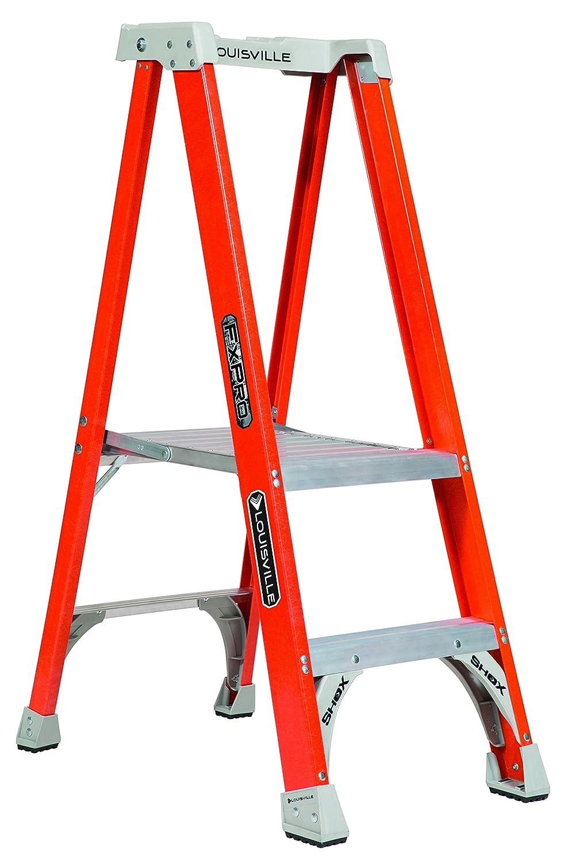 Magnificent Louisville Ladder Fxp1702 Fiberglass Industrial Step Stool 2 Beatyapartments Chair Design Images Beatyapartmentscom