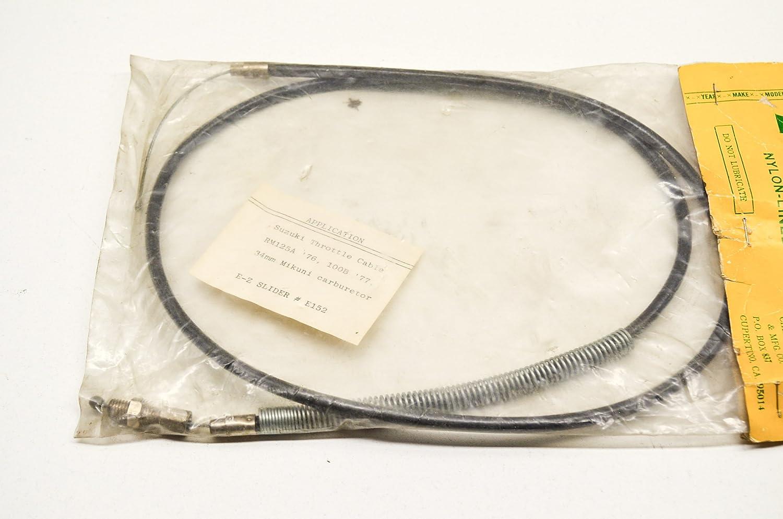 Ez Slider E152 Throttle Cable Suzuki 76 Rm125a 77 100b Qty 1 Automotive