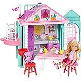 Barbie DWJ50 Club Chelsea Playhouse