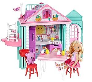 Mattel Dwj50 Barbie Chelsea'nin İki Katlı Evi