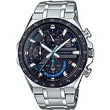 Casio Men's Edifice Quartz Watch with Stainless Steel Strap, Silver, 28.5 (Model: EQS-920DB-1BVCR)