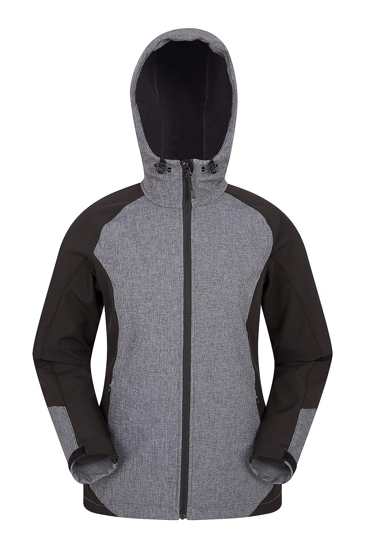 Mountain Warehouse Illuminate Reflective Softhshell Jacket -Womens Coat