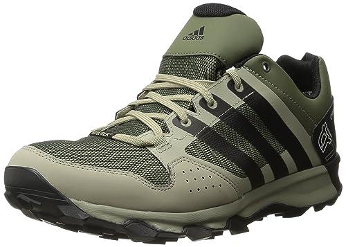 online store 0e4a5 d4202 adidas Men s Outdoor Kanadia 7 GTX Trail Running Shoes, Base Green Core  Black