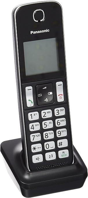 Panasonic KX-TGDA30EXB - Teléfono inalámbrico (Gran Alcance, Base Fina y compacta, Bloqueo de Llamadas, Modo No Molestar, batería 200 h), Color Negro: BLOCK: Amazon.es: Electrónica