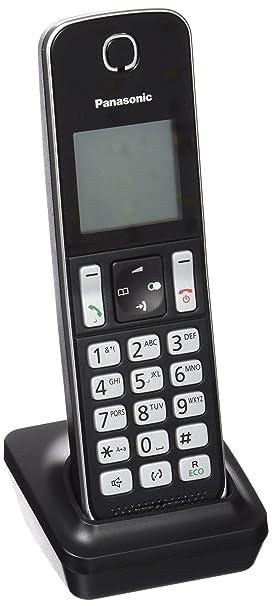 Panasonic KX-TGDA30EXB - Teléfono Fijo Digital (hasta 16 Horas de conversación), Negro: Amazon.es: Electrónica