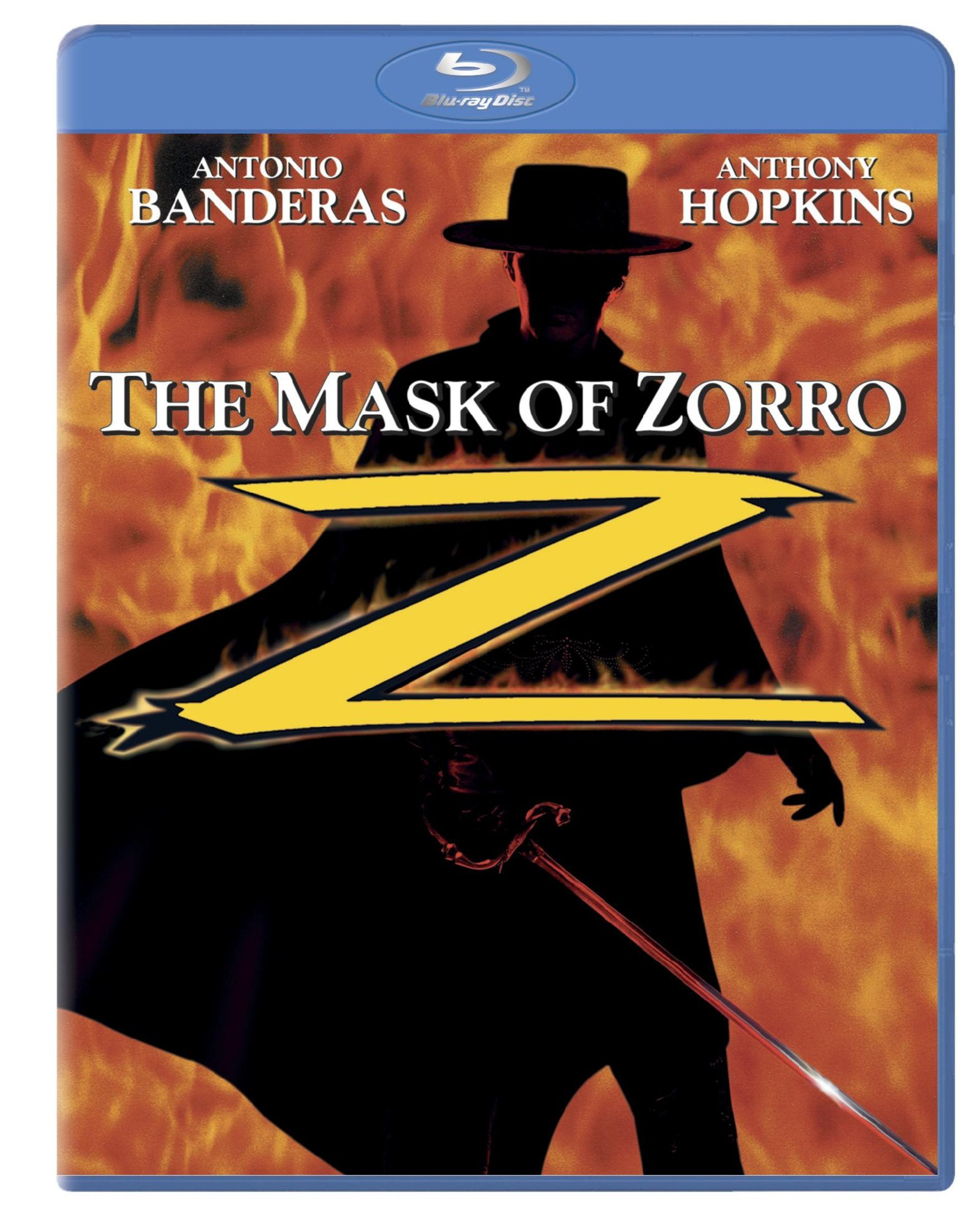 Blu-ray : The Mask of Zorro (, Dubbed, Dolby, AC-3, Widescreen)