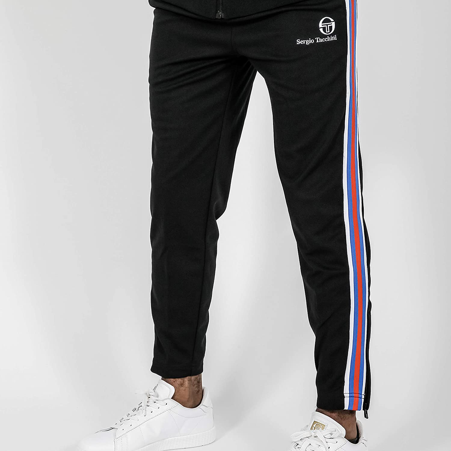 Sergio Tacchini Mens Darcy Casual Tracksuit Lounge Track Top Pants Bottoms Set
