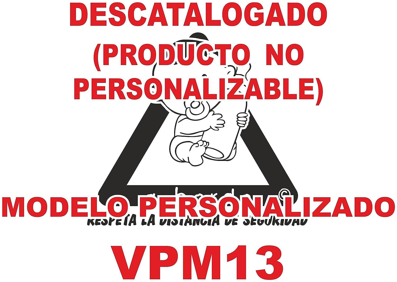 Adhesivo Bebé a bordo VPC13. DISEÑO EXCLUSIVO. VENDIDO Y ENVIADO POR VPM ORIGINAL. PRODUCTO Y EMPRESA 100% DE ESPAÑA. NO COMPRES IMITACIONES CHINAS