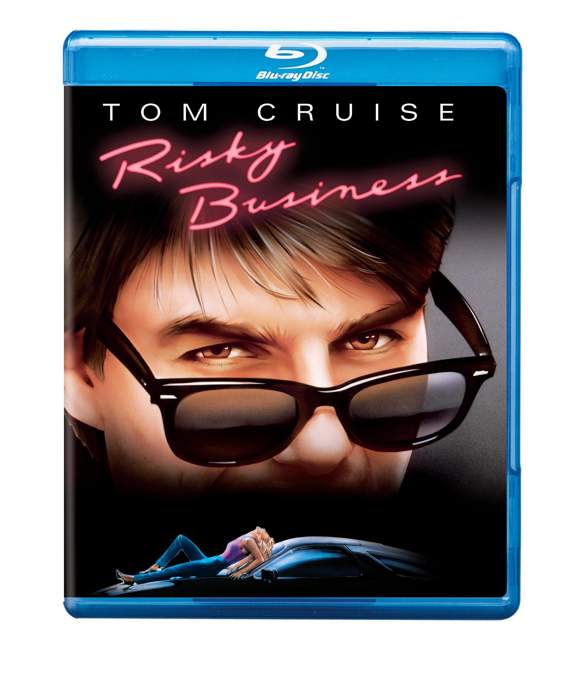 Blu-ray : Risky Business (1983) (Anniversary Edition, Deluxe Edition, Restored, Remastered, Dolby)