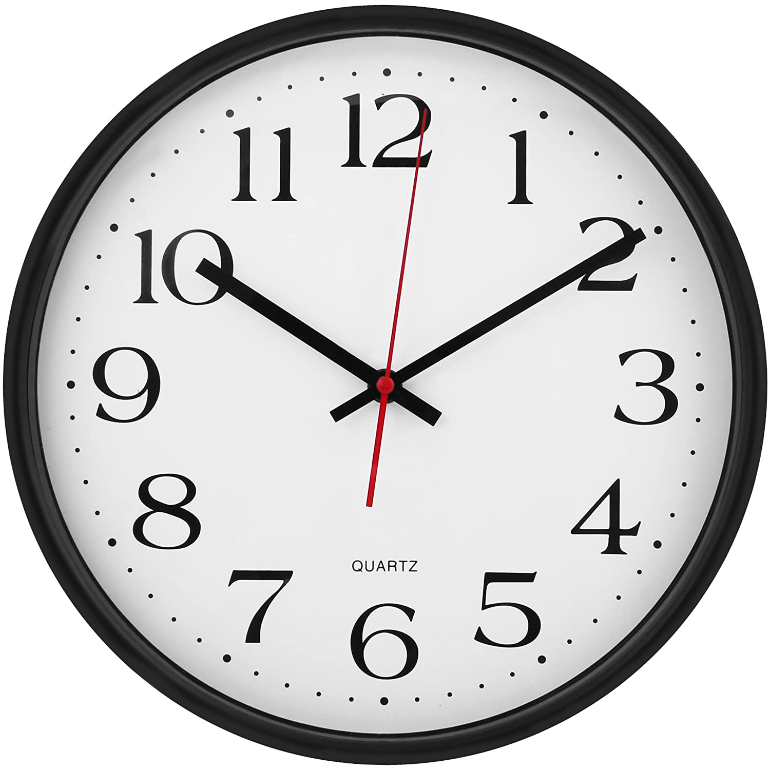 Large Wall Clock Silent Amp Non Ticking Indoor Outdoor