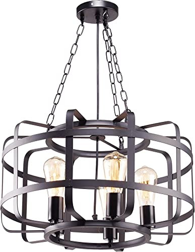 Broadway Antique Black Chandeliers Modern Pendant Light Fixture