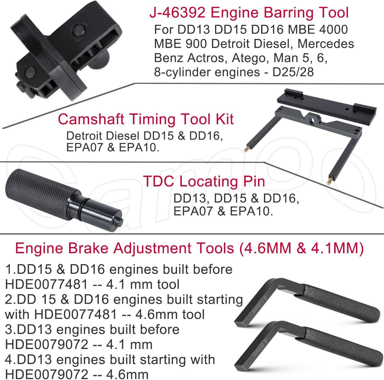 Detroit Diesel DD15 Camshaft Timing Tool W470589104000