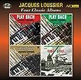 Four Classic Albums (Play Bach Vol 1 / Play Bach Vol 2 / Play Bach Vol 3 / Jacques Loussier Joue Kurt Weill)
