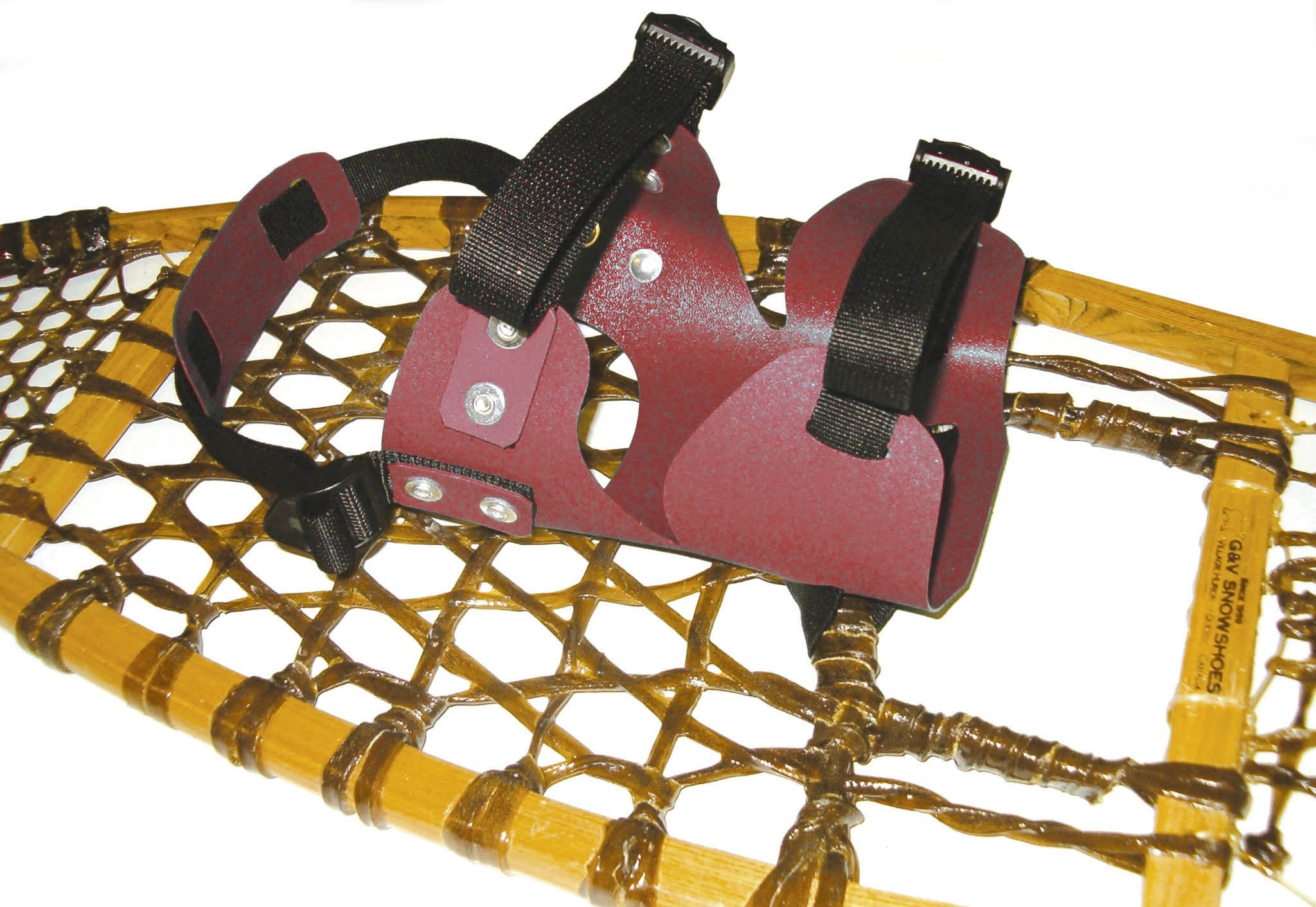 GV Snowshoes Double Use Style Snowshoe Bindings (Colors May Vary) by GV Snowshoes