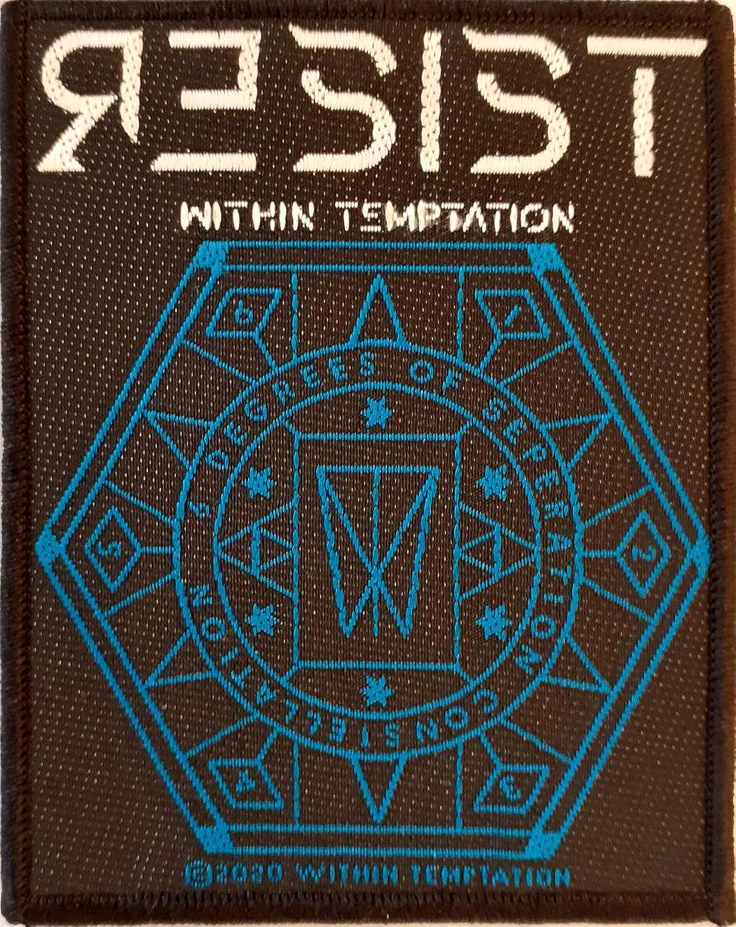 Razamataz Within Temptation Resist Hexagon Patch//Aufn/äher