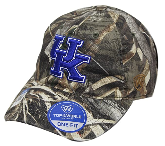 best loved 19c4d bd832 Image Unavailable. Image not available for. Color  Kentucky Wildcats NCAA  TOW  quot Crew Max quot  RealTree Camo Adjustable Hat