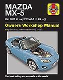 Mazda MX-5 MX5 Oct 2005 - Jul 2015 '55 - '15 Haynes Manual